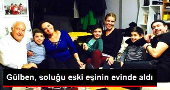 Gülben Ergen, Eski Eşinin Evinden Aile Mutluluğunu Paylaştı
