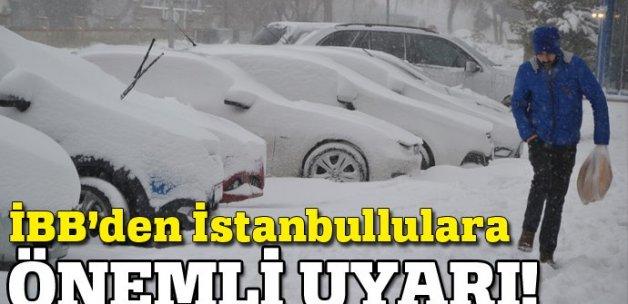 İBB'den İstanbullulara çok önemli duyuru!