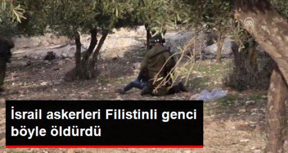 Israil Askerleri Filistinli Genci Öldürdü