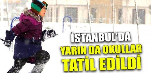 İstanbul'da okullar yarın da tatil (11 Ocak Çarşamba kar tatili)