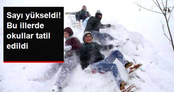 İstanbul ve Birçok İlde Okullar Yarın Tatil Edildi