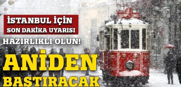 İstanbullular dikkat! Cuma günü kar geliyor (İSTANBUL KAR YAĞIŞI)