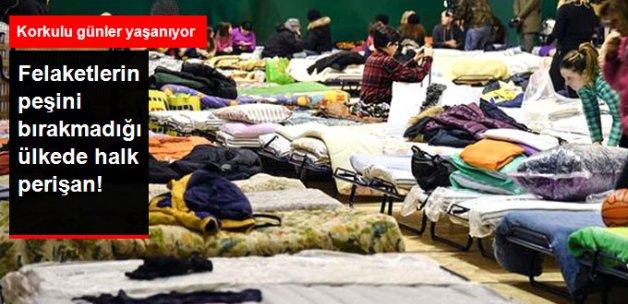 İtalya'yı Hem Deprem, Hem Çığ Vurdu; Halk Perişan Oldu