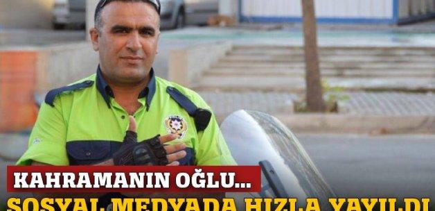 Kahramanın futbolcu oğlu için kampanya!
