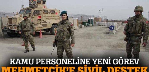 Kamu personeline Mehmetçik görevi