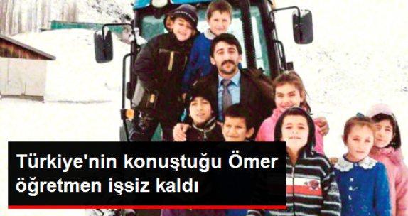 Karlı Yolları Traktörle Aşan Ömer Öğretmen İşsiz Kaldı