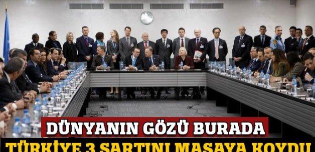 Kıbrıs görüşmelerinde Türkiye 3 şartını masaya koydu