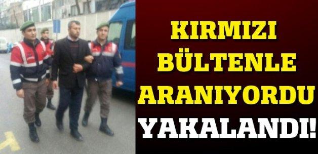 Kırmızı bültenle aranıyordu, Bursa'da yakalandı!