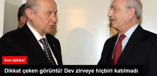 Kritik Kılıçdaroğlu - Bahçeli Görüşmesi Başladı