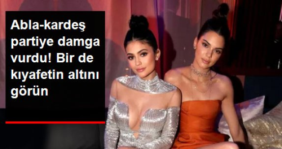 Kylie ve Kendall Jenner, Altın Küre Ödülleri Partisinde Göz Kamaştırdı