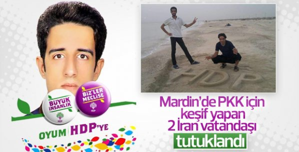 Mardin'de PKK'nın İranlı keşifçileri tutuklandı