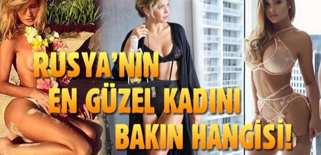 Maxim, Rusya'nın en güzel kadınını seçti