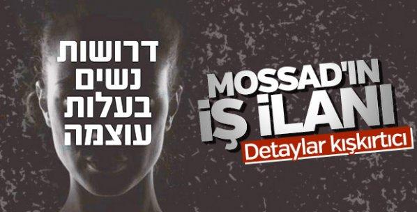 MOSSAD'dan kadın casus kampanyası