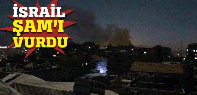 Şam'da askeri havalimanına saldırı