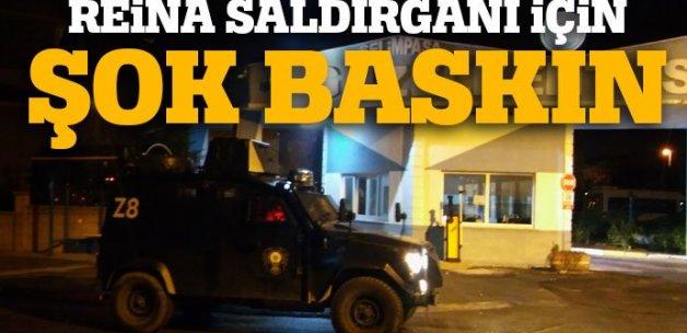 Silivri'de Ortaköy'deki terör saldırısıyla ilgili operasyon