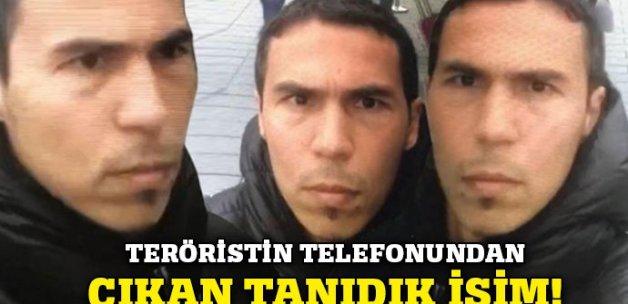 Teröristin cep telefonundan çıkan tanıdık isim