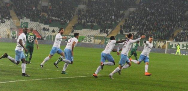 Trabzonspor'dan yeni yıla iyi başlangıç