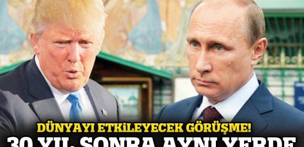 'Trump İzlanda'da Putin zirvesi istiyor' iddiası