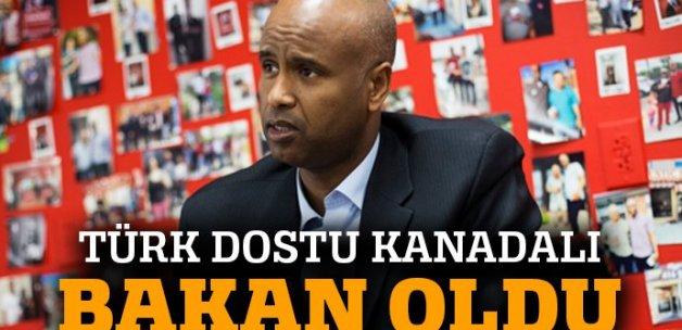 Türk dostu Kanadalı, Vatandaşlık ve Göçmenlik Bakanı oldu