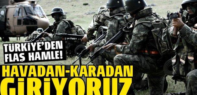 Türkiye Kandil ve Rojova için harekete geçti!