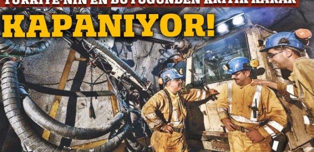 Türkiye'nin en büyüğüydü! Kapanıyor