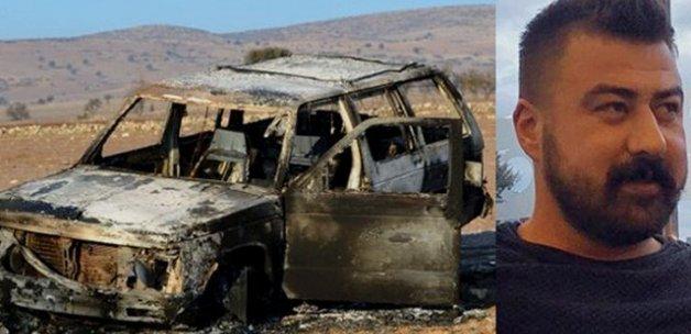 Ünlü işadamının oğlu kaçırıldı, aracı yanmış halde bulundu