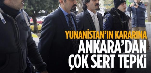 Yunanistan'ın FETÖ kararına Ankara'dan ilk tepki