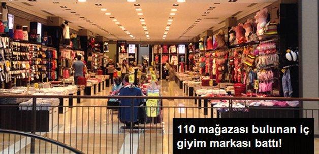 110 Mağazası Bulunan Tekstil Mağazası