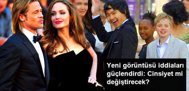 Angelina Jolie'nin Kızı Shiloh'un Erkek Gibi Giyinmesi Dikkat Çekti