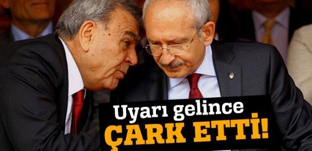 CHP' lideri Kılıçdaroğlu uyarınca Aziz Kocaoğlu geri adım attı