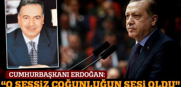 Cumhurbaşkanı Erdoğan: 'Sayın Enver Ören sessiz çoğunluğun sesi olmuştur'