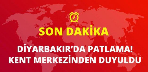 Diyarbakır'da Tren Raylarına Yerleştirilen Bomba Patladı!