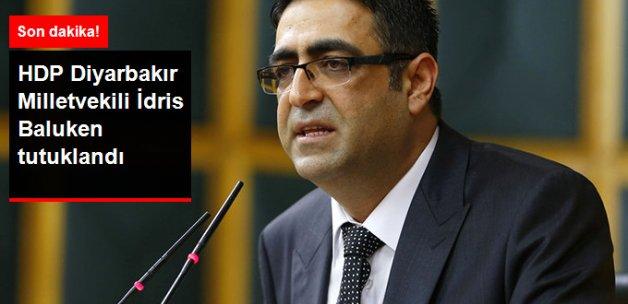 HDP Diyarbakır Milletvekili İdris Baluken Tutuklandı