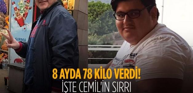 İnanılmaz değişim: 8 ayda 78 kilo verdi
