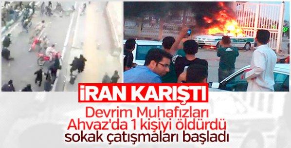 İran'da sokaklar karıştı
