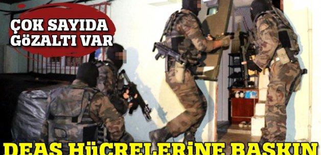İstanbul'da DEAŞ hücrelerine baskın! 35 gözaltı var