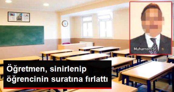 İstanbul'da Öğretmen, Minik Öğrencisini Kitap Fırlatarak Yaraladı