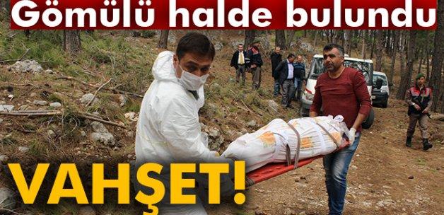 Konya'da öldürüp, Antalya'da gömdüler