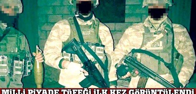 Milli Piyade Tüfeği El-Bab'taki komandoların elinde