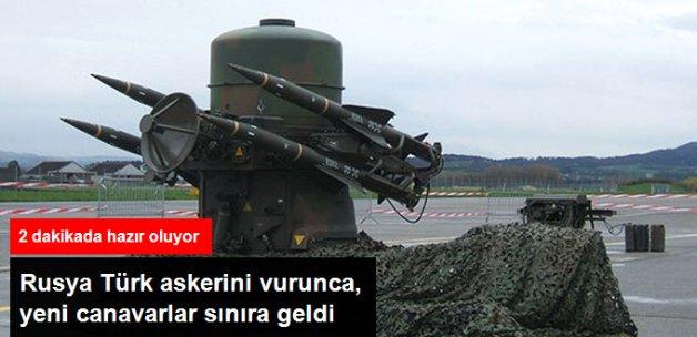 Suriye Sınırına Raiper Füzeleri Yerleştirildi