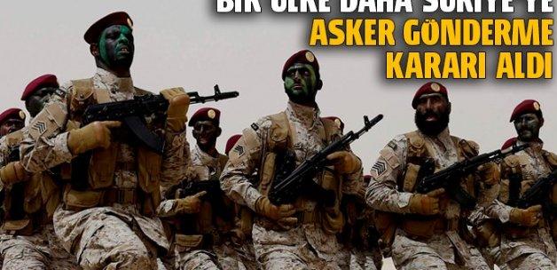 Suudi Arabistan Suriye'ye asker göndermeye hazır