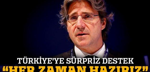 Türkiye'ye sürpriz destek: 'Türk şirketlerini kucaklamaya hazırız'