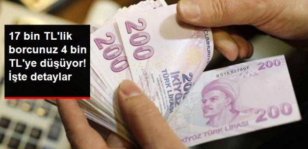 1 Nisan'da 17 Bin Liralık GSS Borcu 4 Bin Liraya İniyor