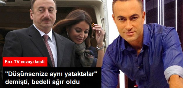 Aliyev Hakkındaki Yorumu Sonrası Murat Güloğlu Fox TV'den Kovuldu