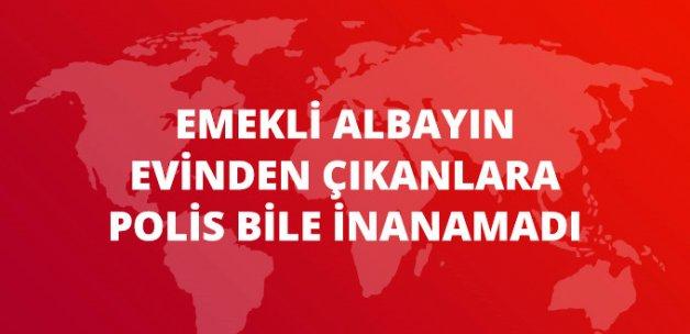Ankara'da Emekli Albayın Evinden Cephanelik Çıktı