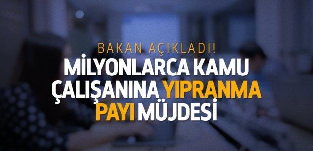 Bakan Müezzinoğlu: 'Yıpranma payı' çalışmaları başladı