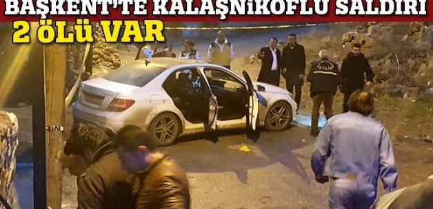 Başkentte otomobili taradılar: 2 ölü