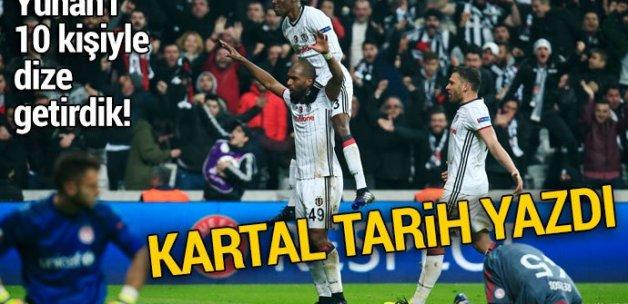 Beşiktaş 4-1 Olympiakos