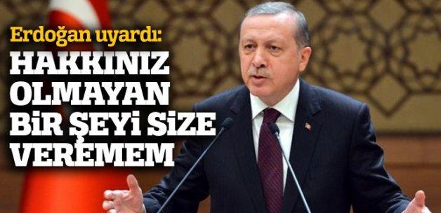 Cumhurbaşkanı Erdoğan servisçileri uyardı!