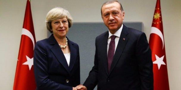 Erdoğan'ndan İngiltere Başbakanı'na taziye telefonu: Birleşik Krallık'ın acısını derinden hissettik
